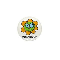 Whatever flower Mini Button (10 pack)