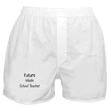 Future Middle School Teacher Boxer Shorts