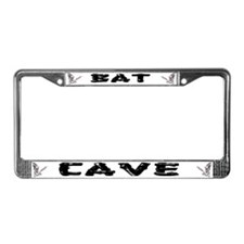 Bat Cave License Plate Frame