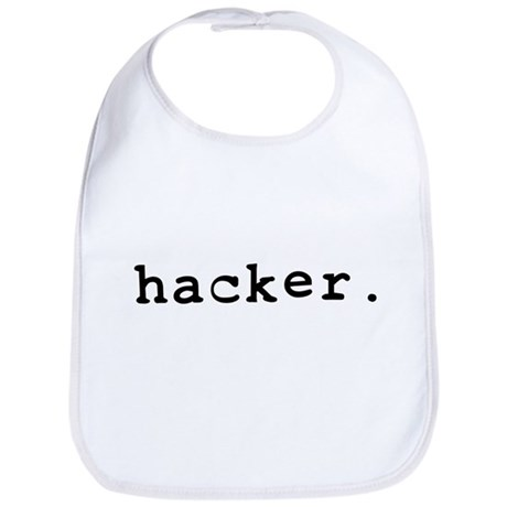 hacker. Bib