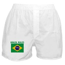 BRAZIL RULES Boxer Shorts