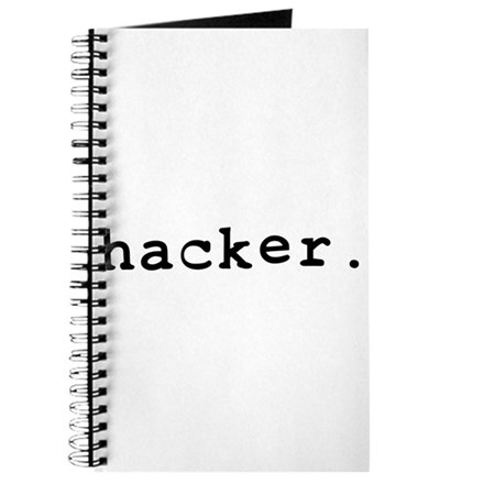 hacker. Journal