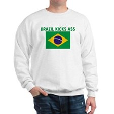 BRAZIL KICKS ASS Sweatshirt