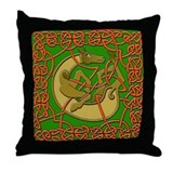 Celtic Horse Throw Pillow
