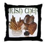 Irish Chef Throw Pillow