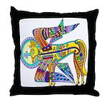 Kells Winged Creature Throw Pillow