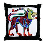 Celtic Canine Throw Pillow