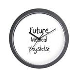 Future Medical Physicist Wall Clock