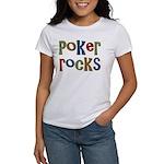 Poker Rocks Cards Texas Holdem Women's T-Shirt