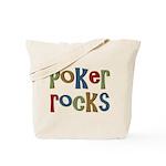 Poker Rocks Cards Texas Holdem Tote Bag