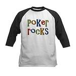 Poker Rocks Cards Texas Holdem Kids Baseball Jerse