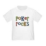 Poker Rocks Cards Texas Holdem Toddler T-Sh