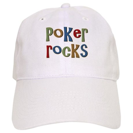 Poker Rocks Cards Texas Holdem Cap