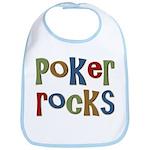 Poker Rocks Cards Texas Holdem Bib