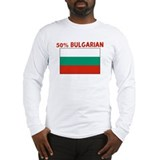 50 PERCENT BULGARIAN Long Sleeve T-Shirt