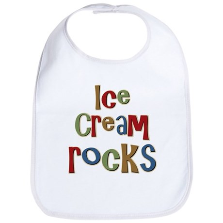 Ice Cream Frozen Dessert Lover Bib