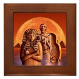 Mummy Framed Tile