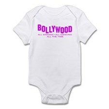 Cute Bollywood Infant Bodysuit