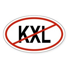 KXL Oval Decal