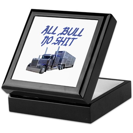 All Bull No Shit Keepsake Box