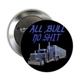 "All Bull No Shit 2.25"" Button"