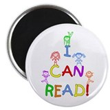 I Can Read 1 Magnet