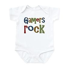 Gamers Rock RPG Video Geek Infant Bodysuit