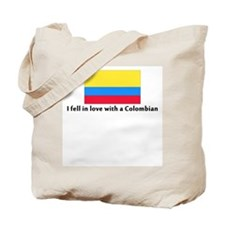 I fell in love with a Colombi Tote Bag