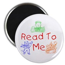 "Read-Nursery Rhymes 2.25"" Magnet (10 pack)"