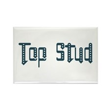 Top Stud Rectangle Magnet (10 pack)