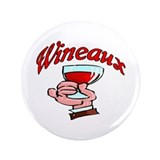 "Wineaux 3.5"" Button"