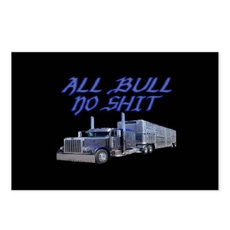 All Bull No Shit Postcards (Package of 8)