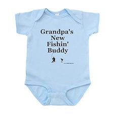 """""""Grandpa's Fishin' Buddy"""" Onesie"""