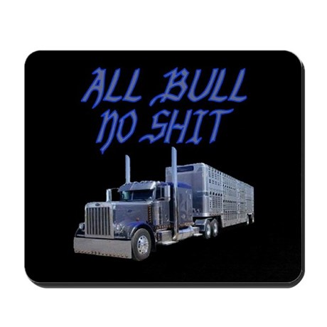 All Bull No Shit Mousepad
