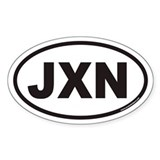 JXN Euro Oval Decal