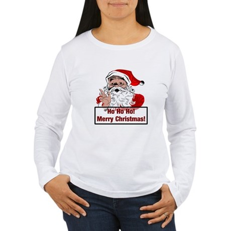 Santa Clause Women's Long Sleeve T-Shirt