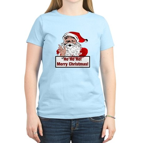Santa Clause Women's Light T-Shirt