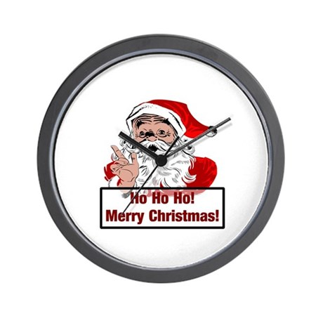 Santa Clause Wall Clock