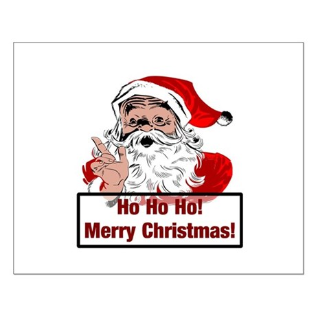Santa Clause Small Poster