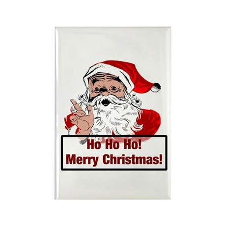 Santa Clause Rectangle Magnet