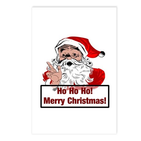 Santa Clause Postcards (Package of 8)