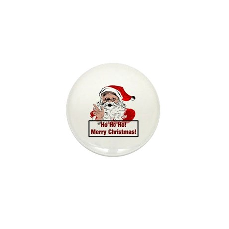 Santa Clause Mini Button