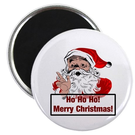 "Santa Clause 2.25"" Magnet (10 pack)"