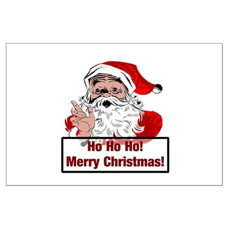 Santa Clause Large Poster