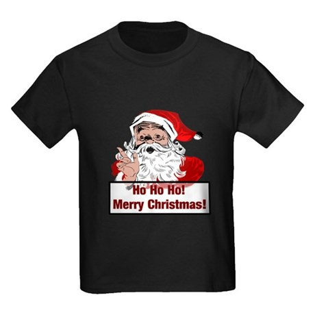 Santa Clause Kids Dark T-Shirt