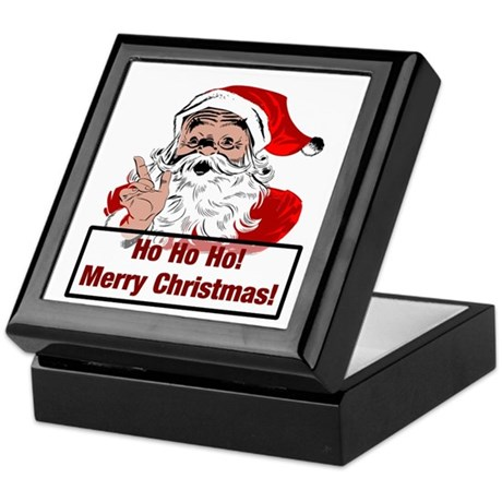 Santa Clause Keepsake Box