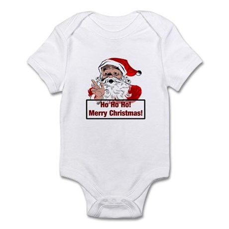 Santa Clause Infant Bodysuit