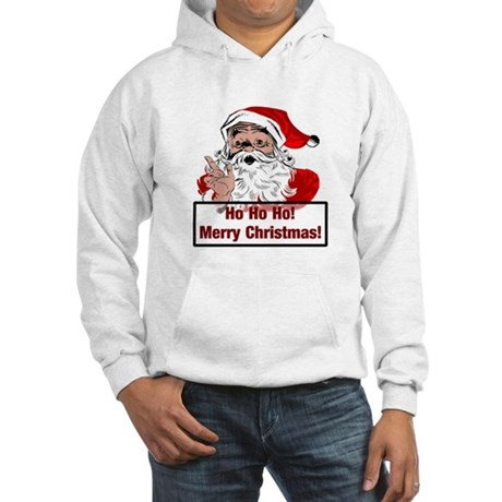 Santa Clause Hooded Sweatshirt