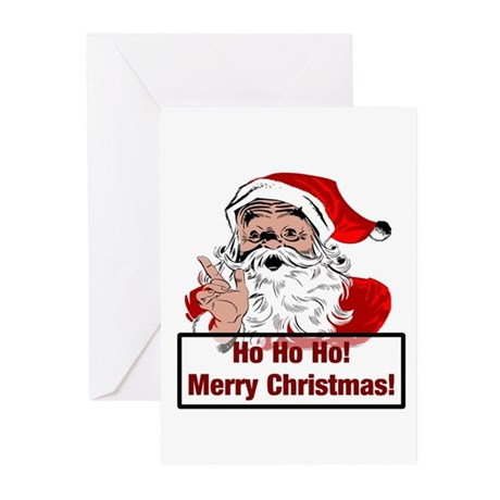 Santa Clause Greeting Cards (Pk of 10)