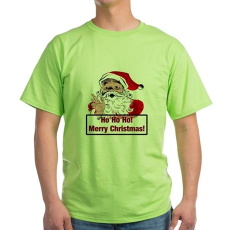 Santa Clause Green T-Shirt